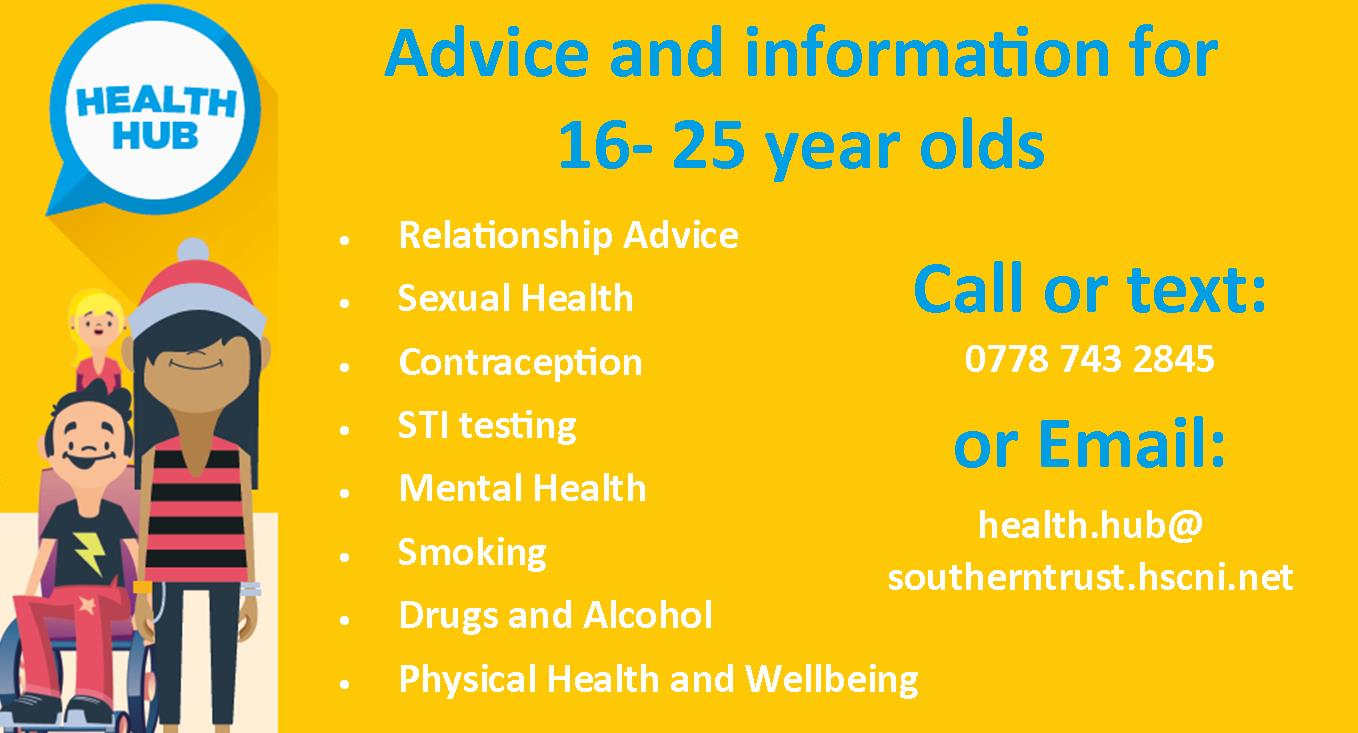 Young people Sexual Health banner